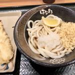 Hanamaruudon - ぶっかけ319円とイカ天132円
