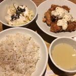 酉しみず - チキン南蛮定食 (*´-`)