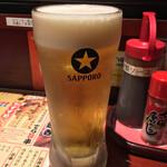 ちょいのみ酒場 せんて - 生中 ( ´θ`) ビール