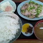 13819072 - チャーシュー定食