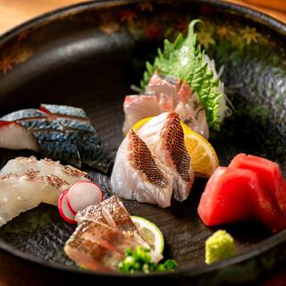 長浜漁港でとれる鮮魚