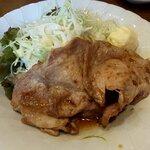 美味処まつを - 豚肉生姜焼き