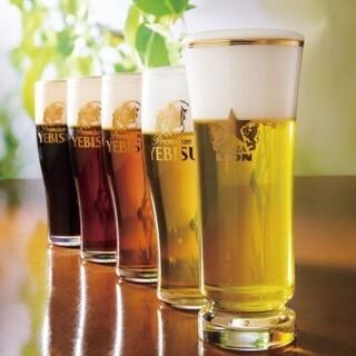 千葉ビール工場で作られた美味しいサッポロ生ビール!