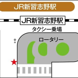 無料シャトルバス/新習志野駅発/停留所、時刻表はこちら