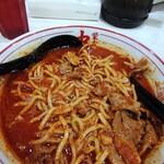 蒙古タンメン中本 - これはモヤシを最初に食べてしまった図。ここからが本番。