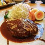 ひなご - 料理写真:ハンバーグ