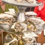 オイスターバー COVO - 生牡蠣4種類