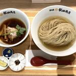 湯河原 飯田商店 ららぽーと沼津店 - 一周年記念限定「つけ麺」1300円