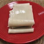 秋山製麺 - 茹で上がり  娘用の素うどん♥