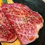 Sumibiyakinikunagomi - 適度な脂身があり、脂が甘く美味しい。