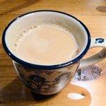ルーエプラッツ ツオップ - しっかり朝食 ¥950 ※ドリンク(カフェ・オレ)