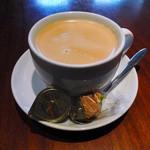 サンドグラスカフェ - ランチのドリンクにホットコーヒーを選択