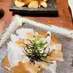 湊水産 - 鯛ゴマだれ  ポテトフライ