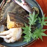 鳴門 - 料理写真:ワタリガニのカンジャンケジャン(12-2月
