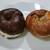 ブーランジェルクール - バブカベーグルクリームチーズサンド&クランベリーベーグルサンド