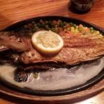 大木海産物レストラン - 魚のバター焼き(時価)この日は1200円