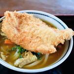 上野製麺所 - チキンカツカレーうどん(カレーうどん+チキンカツ)