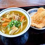上野製麺所 - カレーうどんとチキンカツ