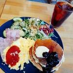 kitchen coco - coco's breakfast plate 780円