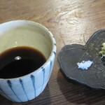 そば切り 蔦屋 - つゆ 山葵 塩