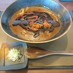 蕎麦さとやま - さとやま活火山(モエレ)(1150円)
