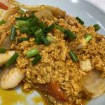 マンゴツリーキッチン - たまごがメインのカレー