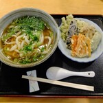 伊吹家 - 料理写真:野菜天ぷらうどん