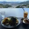 スパゲッティ エヌサンジュウヨン - 料理写真:パスタセットと絶景