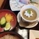 咲椀 - 漬物 デザート