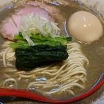 中華そばや 和凡 - 料理写真:純煮干しラーメン¥800+味玉¥100