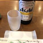 ときわ食堂 - ビール(大)