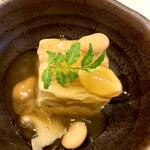 138250785 - お通しの鰻豆腐
