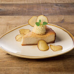 Mr.FARMER - さつま芋のヴィーガンベイクドチーズケーキ