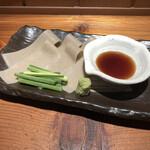 Ajimen - 蕎麦刺し