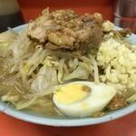 ラーメン富士丸 - 料理写真:【再訪】ラーメン(ニンニク)