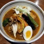 らっきょ - 野菜チキンカレー 1250円
