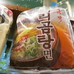 海と - 韓国産 あっさりラーメン  (2012/07)