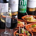ハウハイザムーン2 - タパスをはじめ代表的なスペイン料理とこだわりのワインを多数ご用意