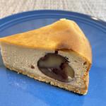 ホシカシ - 料理写真:利平栗のベイクドチーズケーキ