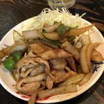 一鳴 - 生姜焼き