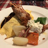 レストラン セージ - 料理写真:オムライス&海老フライ