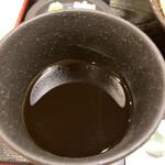 蕎麦処 まち庵 - 出汁がよく効いたそばつゆ