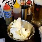 博多とりかわ 長政 - お通し:300円+税