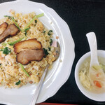 台湾料理 豊源 - 料理写真:豚バラチャーハン(大盛)