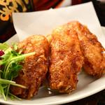 鶏飯 八事バード - 料理写真:カリカリ手羽先