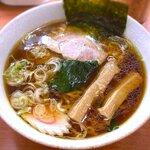 麺処 新白河 - 料理写真:白河ラーメン¥660 2020.7.25