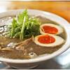 麺饗 松韻 - 料理写真:中華そば(こってり)中+煮玉子 750+110円