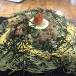 四季即贅喰 - 瓦そば(牛肉+大盛り)