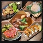 138284526 - ロースト牛タン・牛タン唐揚げ・〆の雑炊・牛タン餃子・牛タンシチュー