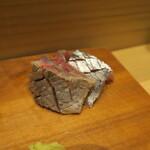 鮨 山浦 - 秋刀魚